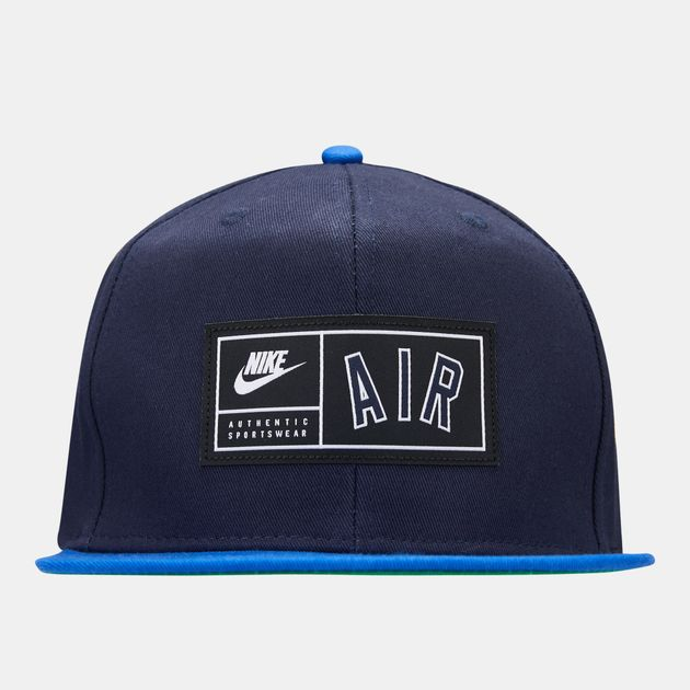 6bd1de8489d2 Nike Air Pro Adjustable Cap - Blue