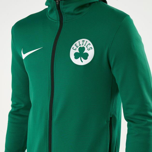 best service b625a 6e956 Nike Men's NBA Boston Celtics Therma Flex Showtime Hoodie