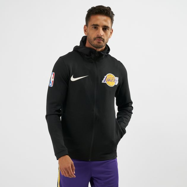 3543f2bc235 Nike NBA Los Angeles Lakers Therma Flex Showtime Hoodie