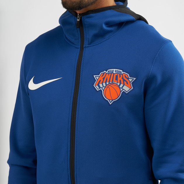 Nike NBA New York Knicks Therma Flex Showtime Hoodie  b65820c81aa4