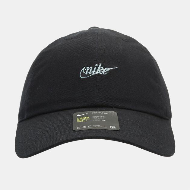 d593e8bb6ec Nike H86 Script Cap - Black