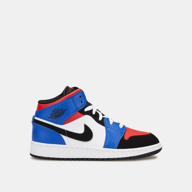 info for 60eb5 53cb4 Jordan Kids' Air Jordan 1 Mid Shoe (Younger Kids ...