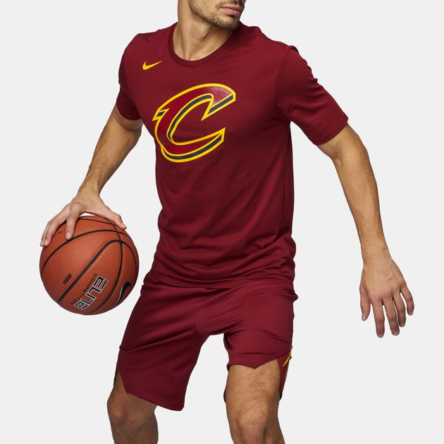 hot sale online a496d 53fb9 Nike NBA Cleveland Cavaliers Dri-FIT Essential Basketball T ...