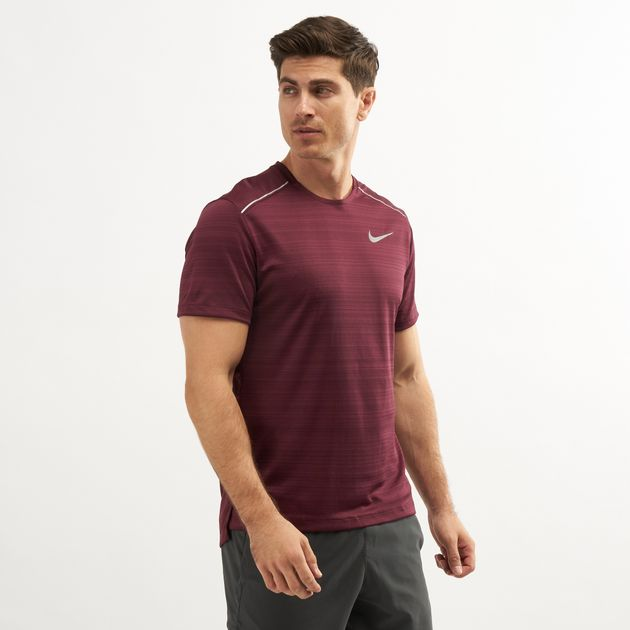 811c63ab7415e Nike Men's Dri-FIT Miler Top | T-Shirts | Tops | Clothing | Men's ...