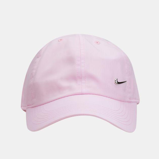 7550a8656c7 Nike Kids  H86 Metal Swoosh Cap (Older Kids) - Pink