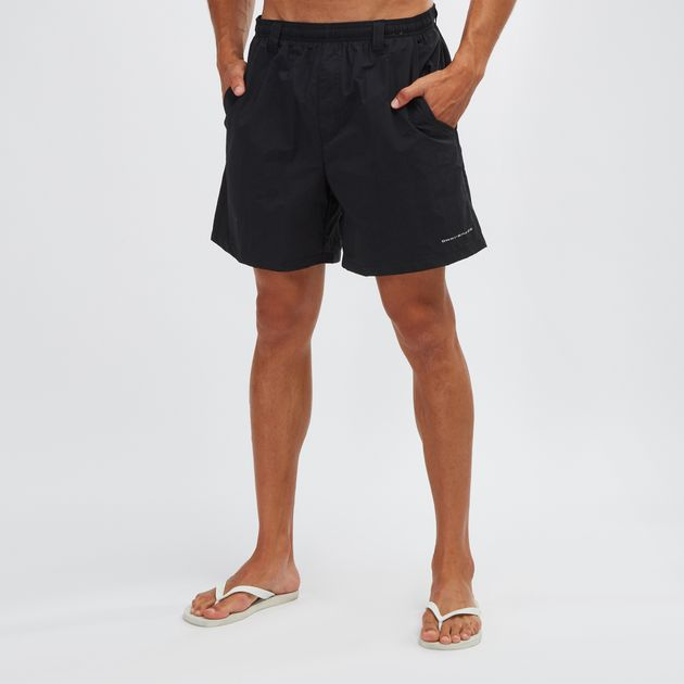 fd79502ec1 Shop Black Columbia PFG Backcast III Water Shorts for Mens by ...