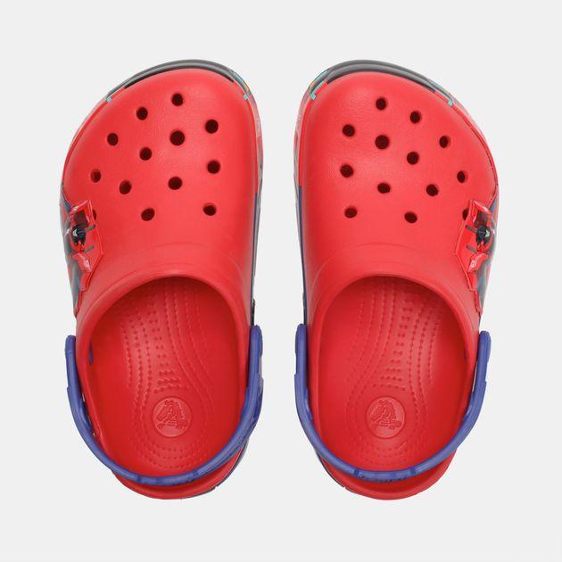 1eee875cf6 Shop Red Crocs Kids  Crocband™ Transformers™ Optimus Prime™ Clogs ...
