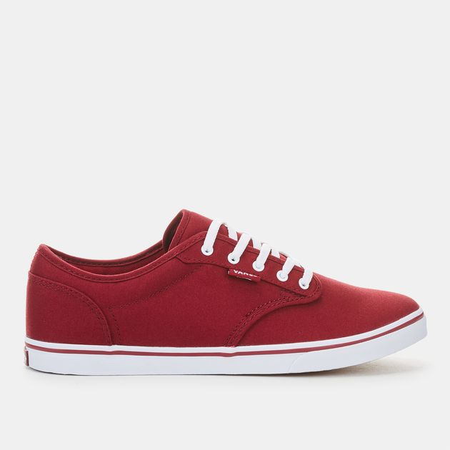 70bd339e3b953c Shop Red Vans Atwood Low Sneaker for Womens by Vans