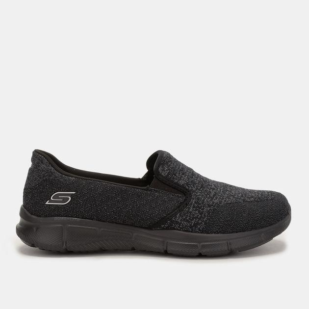 Skechers Women's Equalizer Say Something Slip On Sneaker
