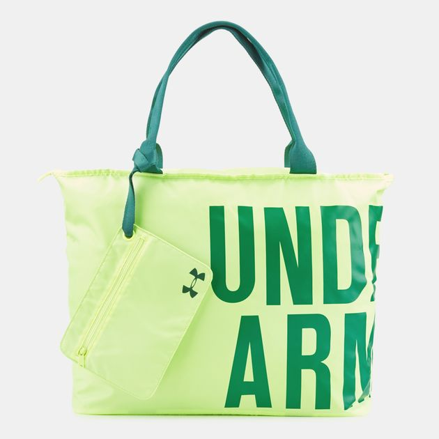 Under Armour Big Wordmark Tote Bag - Yellow 6784a46dcca00