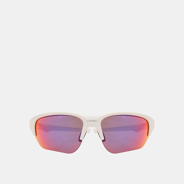 63f6b79275 Shop White Oakley Flak Beta Prizm™ Road Sunglasses for Unisex by ...
