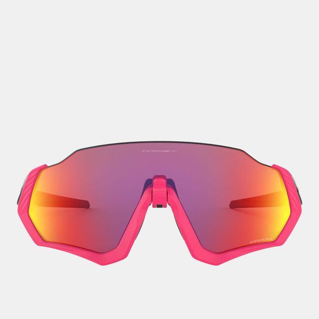 c86738138e Oakley Flight Jacket Prizm Sunglasses - Pink