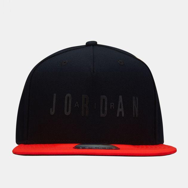 huge discount 233b0 e96bf Nike Men s Jordan Pro Legacy Air Snapback Cap - Black, 1465177