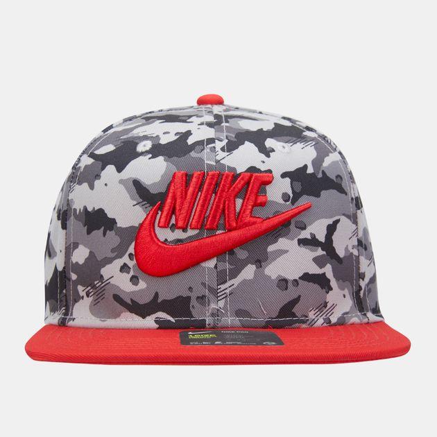 280cb8c7f427f Nike Air Kids  True Camo Cap (Older Kids) - Grey