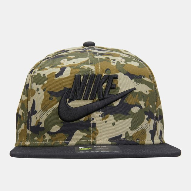a34143279c1d5 Nike Air Kids  True Camo Cap (Older Kids) - Green