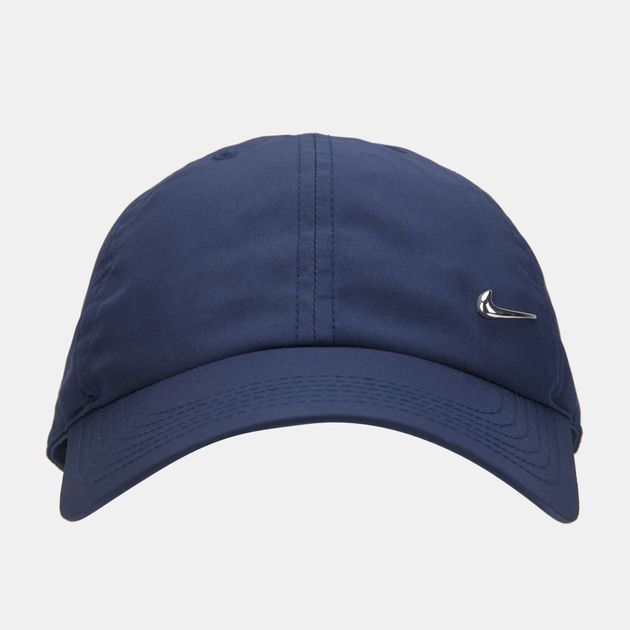 Nike Kids  H86 Metal Swoosh Cap (Older Kids) - Blue e862e38e831