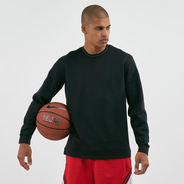 f0573611 Nike Men's Dri-FIT Long-Sleeve Basketball Sweatshirt, 1617430