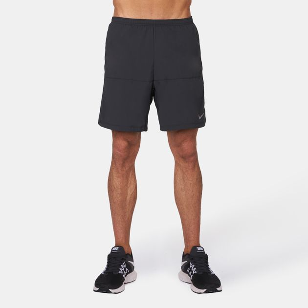 """49919cd8799a Shop Black Nike 9"""" Distance Running Shorts for Mens by Nike"""