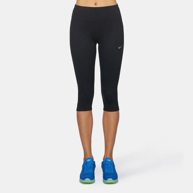 5c42caa55bb3f Nike Dri-FIT Epic Run Running Capri Leggings   Full Length Leggings ...
