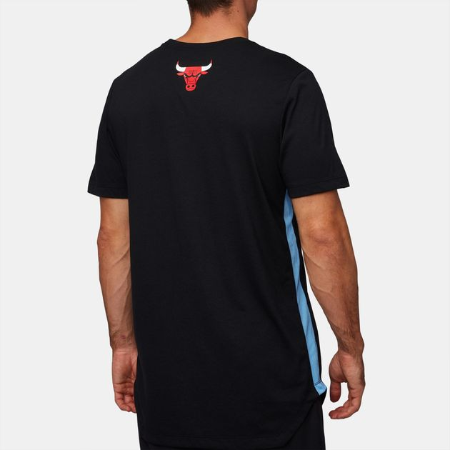 huge discount f9275 71a5d Shop Black Nike NBA Chicago Bulls Dry City Edition T-Shirt ...