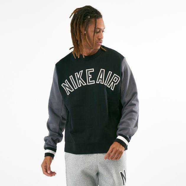 Nike Men's Air Fleece Crew Sweatshirt