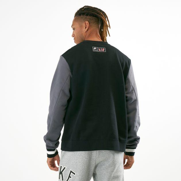 44ce2428cd21 Nike Men s Air Fleece Crew Sweatshirt