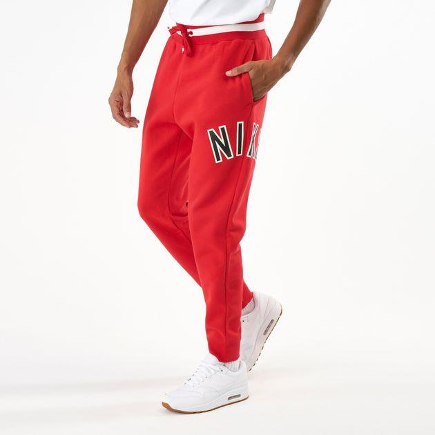 sleek shop best sellers well known Nike Men's Air Fleece Joggers