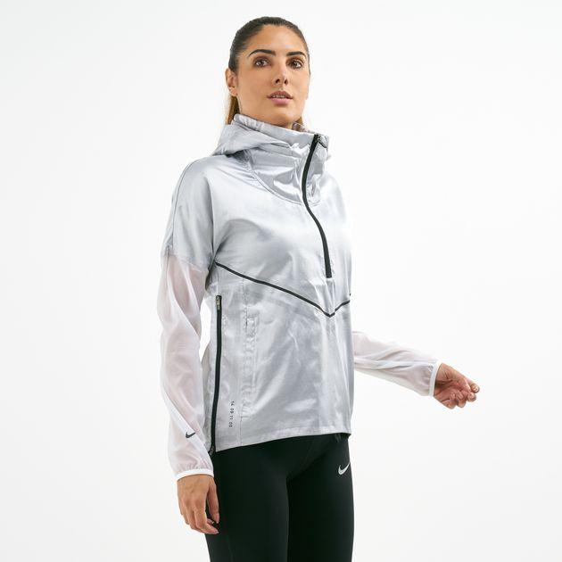 a5cc413fc2 Nike Women's Tech Pack Hooded Running Jacket