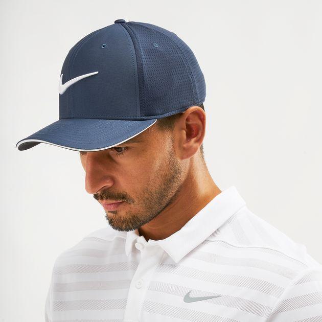 Shop Blue Nike Golf Classic 99 Mesh Cap  fab46e87532