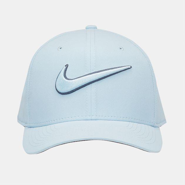 afb52722c05 Shop Blue Nike Golf Classic 99 Swoosh Cap