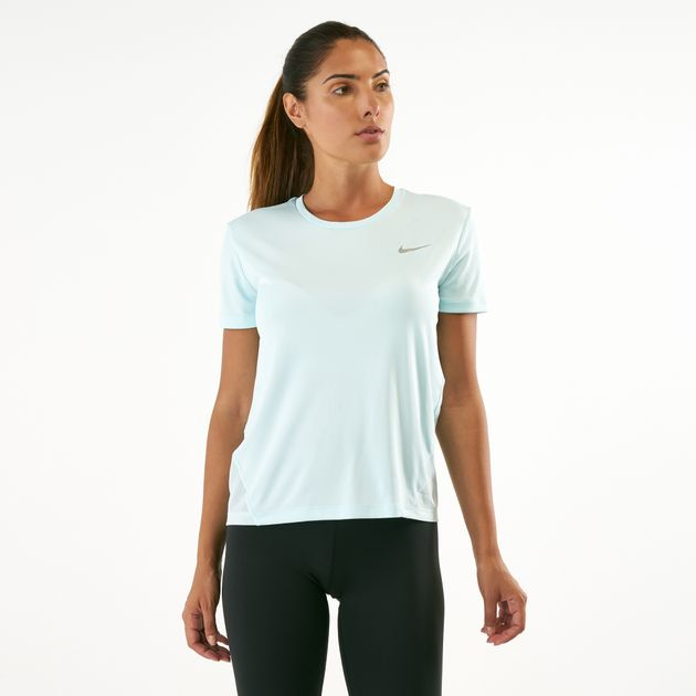 b28349cb6 Nike Women's Miler Running T-Shirt | T-Shirts | Tops | Clothing ...
