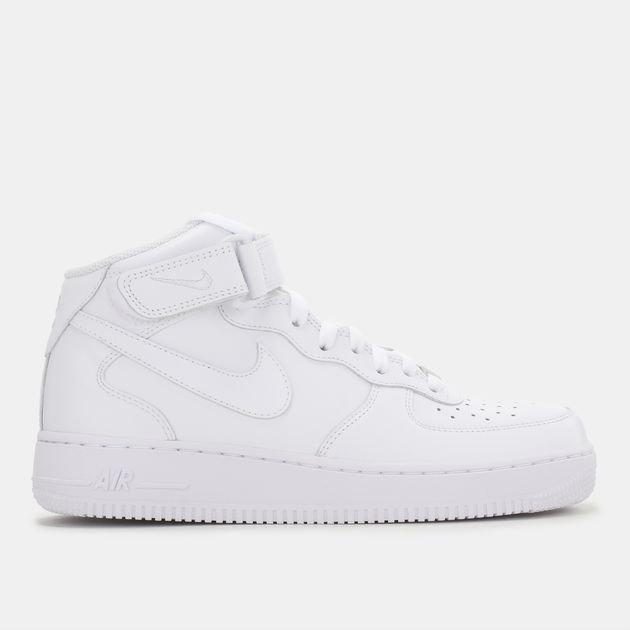 4a99263347 Shop White Nike Air Force 1 Mid '07 Women's Shoe for Womens by Nike ...