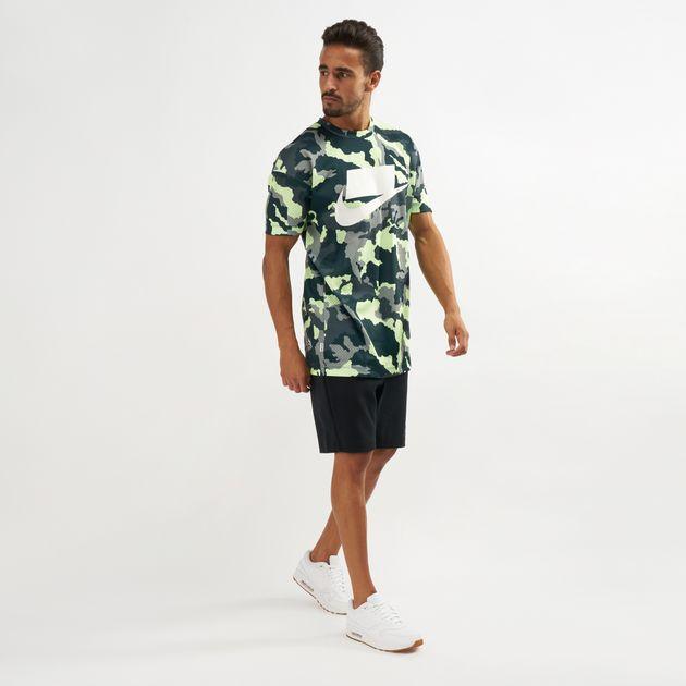 0bfca82b06118 Nike NSW Mesh Camo Print T-Shirt | T-Shirts | Tops | Clothing ...