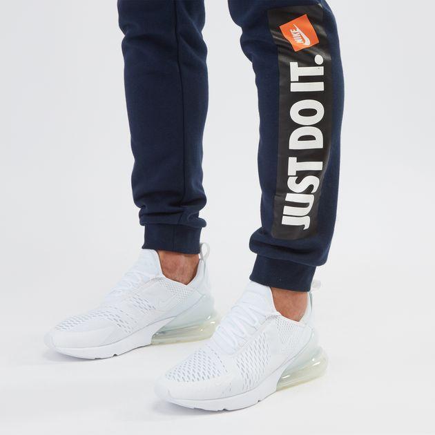 Blue Nike Sportswear Fleece Jogger Pants  67c9b6312