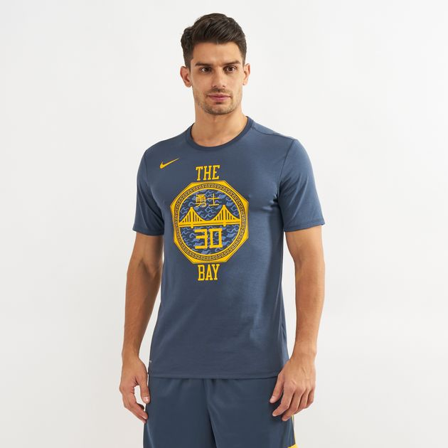 d27dd52eaa5 Nike NBA Golden State Warriors Stephen Curry Dri-FIT City Edition T-Shirt,