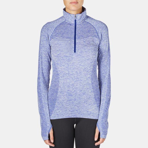 Nike Dri-FIT Knit Half-Zip Running T-Shirt
