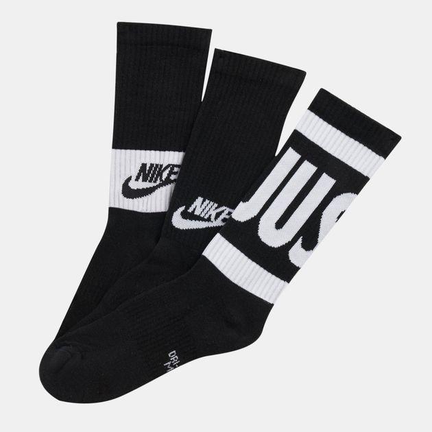 Nike Kids' Performance Cushioned Crew Training Socks (3 Pair) (Older Kids)