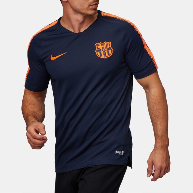 de6884799cad Nike Breathe Fc Barcelona Squad Football T-Shirt