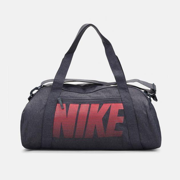 5384f0c5d7ae Shop Grey Nike Gym Club Training Duffel Bag for Womens by Nike