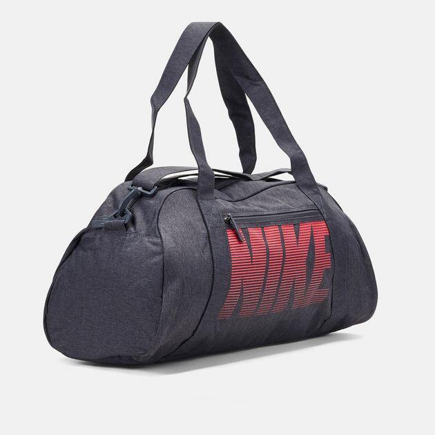 8f6ca9bf90 Shop Grey Nike Gym Club Training Duffel Bag for Womens by Nike