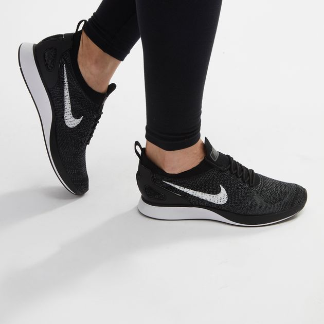 Shop Black Nike Air Zoom Mariah Flyknit Racer Running Shoe for ... 472721518