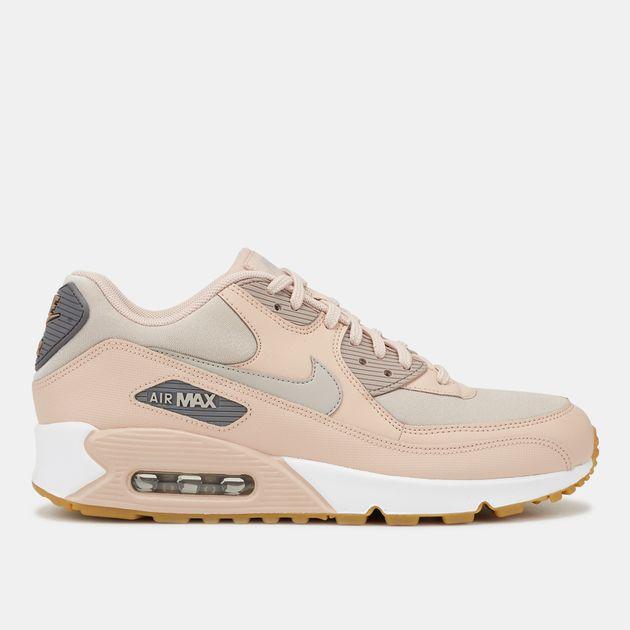 meilleur service e6edf ce077 Shop Beige Nike Air Max 90 Shoe for Womens by Nike | SSS
