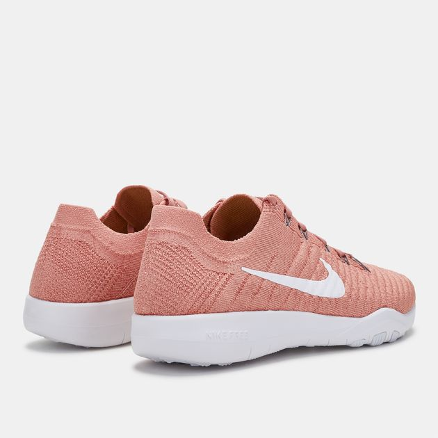 official photos 32dcf 20dad Shop Pink Nike Free TR Flyknit 2 Shoe for Womens by Nike | SSS