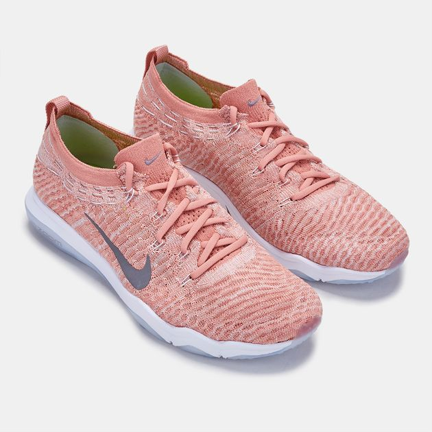 Shop Pink Nike Air Zoom Fearless Flyknit Lux Training Shoe for ... 2f4e6ac27