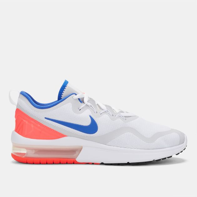 a07864dfd763 Shop White Nike Air Max Fury Running Shoe for Mens by Nike