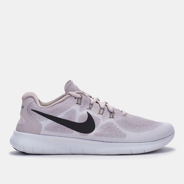 2fdd7d4ca7fe Shop Beige Nike Free RN 2017 Shoe for Womens by Nike
