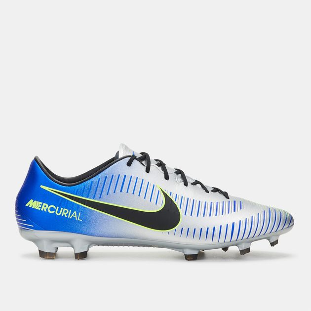 02f4d203a3a2 Shop Blue Nike Mercurial Veloce III Neymar Jr Firm Ground Football ...
