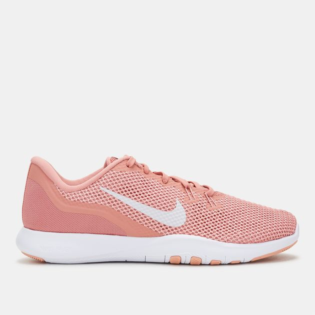 e5f352e12ca8 Shop Pink Nike Flex Trainer 7 Training Shoe for Womens by Nike