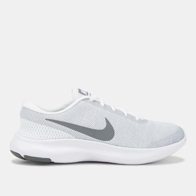 3b5ab85e0947 Shop White Nike Flex Experience RN 7 Running Shoe for Womens by Nike ...