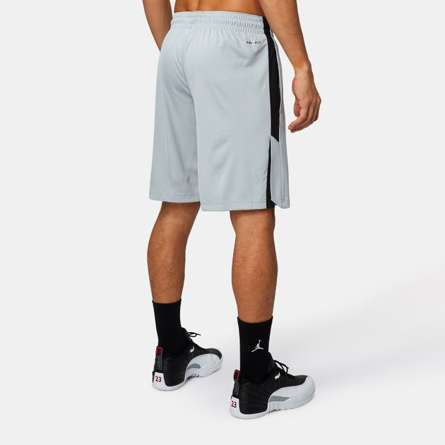 6d35a122ce016 Shop Grey Jordan Dri-FIT 23 Alpha Basketball Shorts for Mens by ...